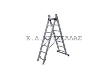 BULLE SS7 Σκάλα Αλουμινίου Διπλή Επεκτ. 14 Σκαλιά