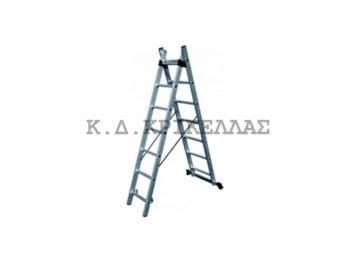 BULLE SS11 Σκάλα Αλουμιν. Διπλή Επεκτ. 22 Σκαλιά